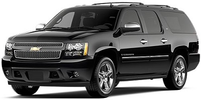 Chevrolet Chevy Suburban Luxury SUV Car Service