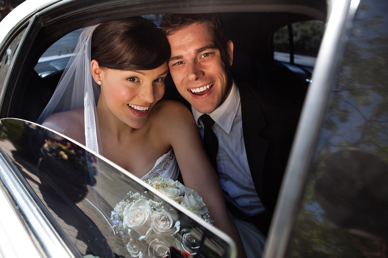 Wedding Transportation Car and Limo Service in Boston and New England